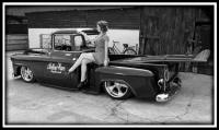 Chevy Truck with surfboards